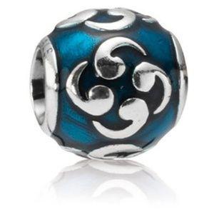 Genuine Pandora Turquoise Zen Bead